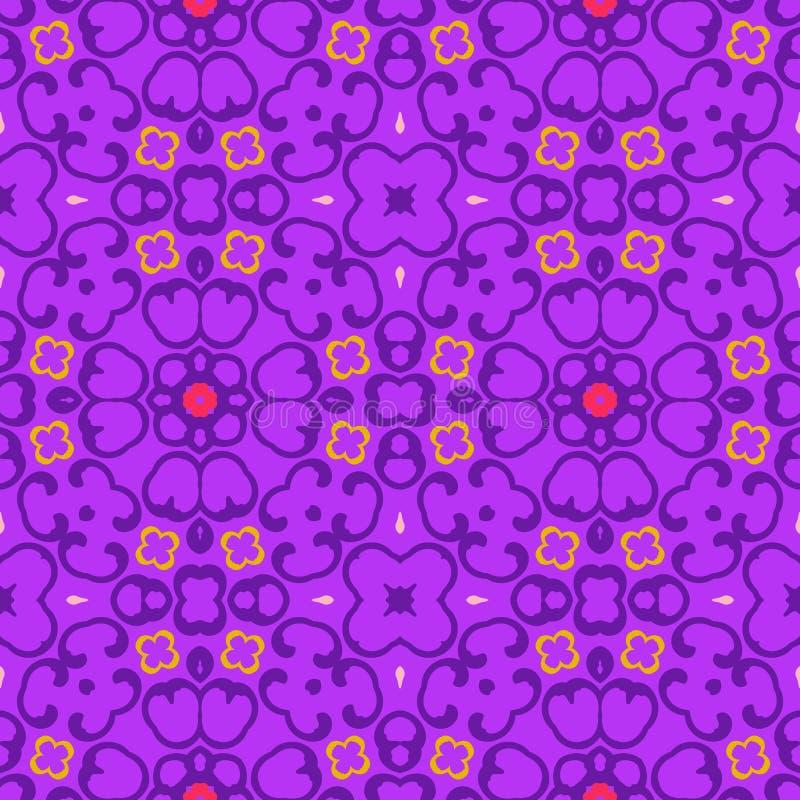 Seamless Symmetrical Pattern, Texture Stock Photo