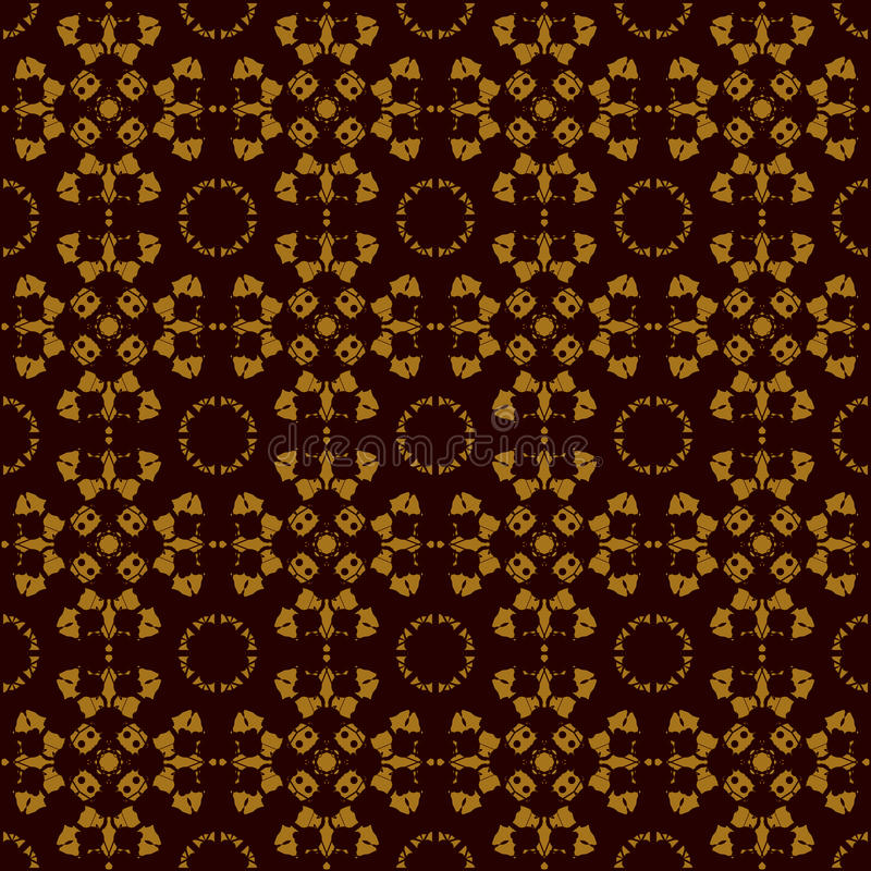 Seamless Symmetry Print Rorschach inkblot test inspired . Abstract seamless pattern. For fabric, wallpaper, print. Warping paper vector illustration
