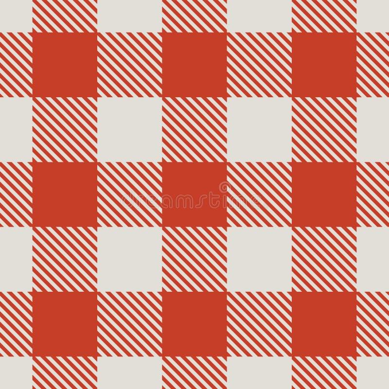 seamless tablecloth för modell vektor illustrationer