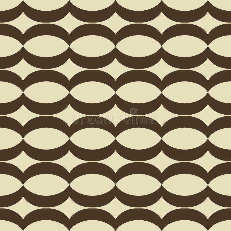 Seamless tablecloth pattern. stock illustration