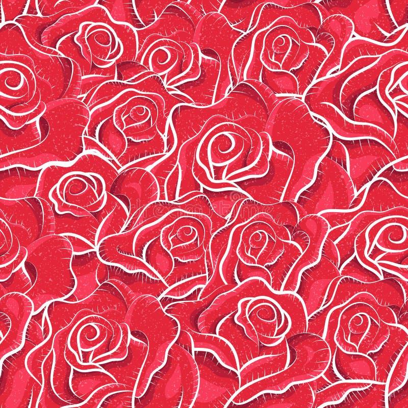 Download Seamless Tappningro Mönstrar Vektor Illustrationer - Illustration av origami, vektor: 27285733