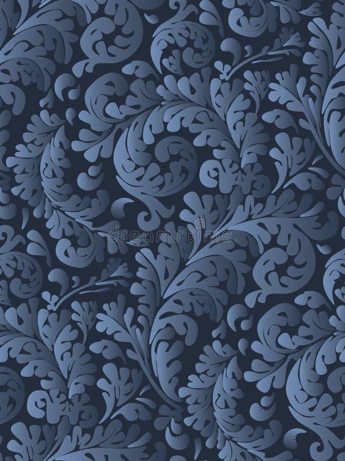 seamless tappningwallpaper stock illustrationer