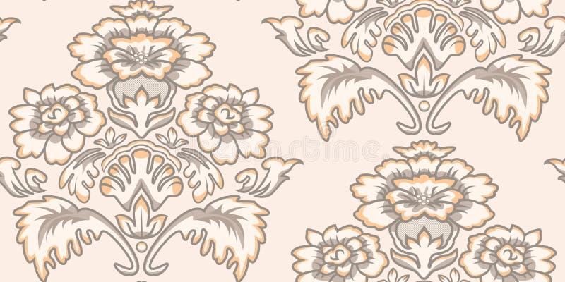 seamless tappningwallpaper för modell stock illustrationer
