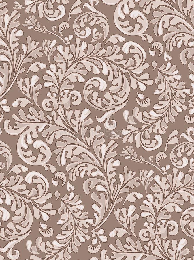 seamless tappningwallpaper för modell royaltyfria bilder
