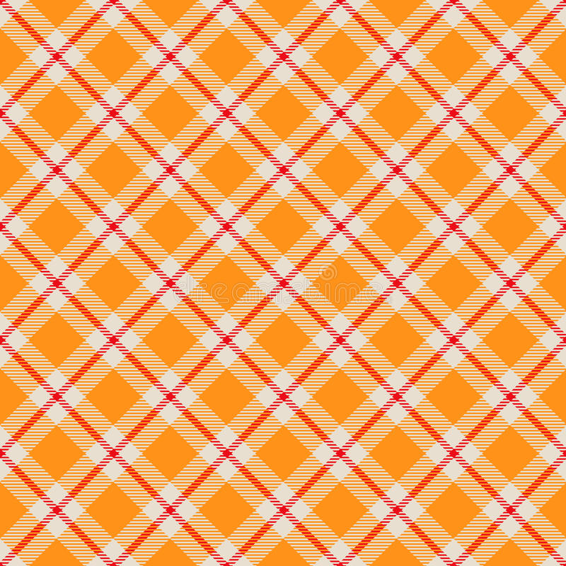 Seamless tartan pattern royalty free illustration