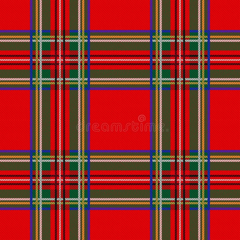 Seamless tartan pattern background plaid. Christmas decoration, scottish ornament. vector illustration
