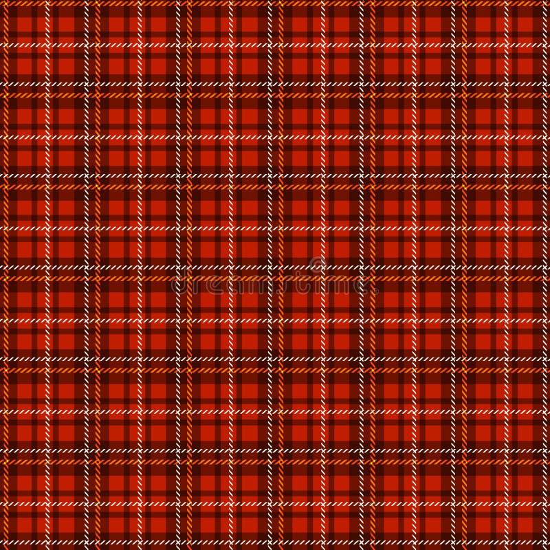 Seamless tartan pattern. Vector checkered background. vector illustration