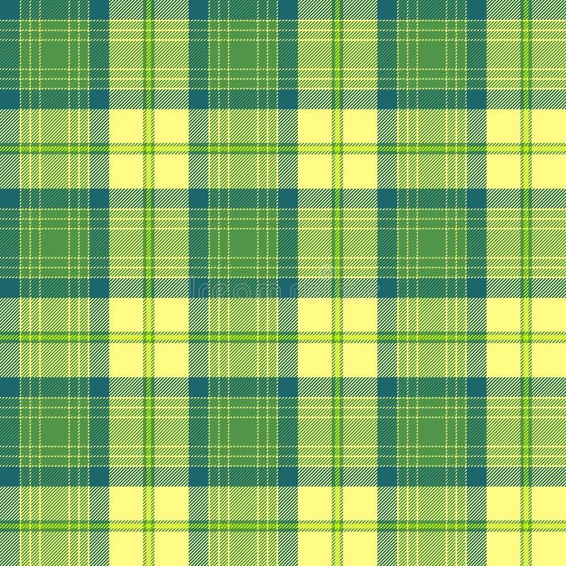 Seamless tartan pattern vector royalty free stock photography