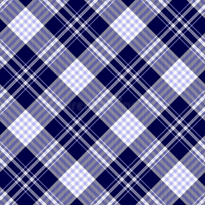 Seamless tartan plaid pattern. stock photo