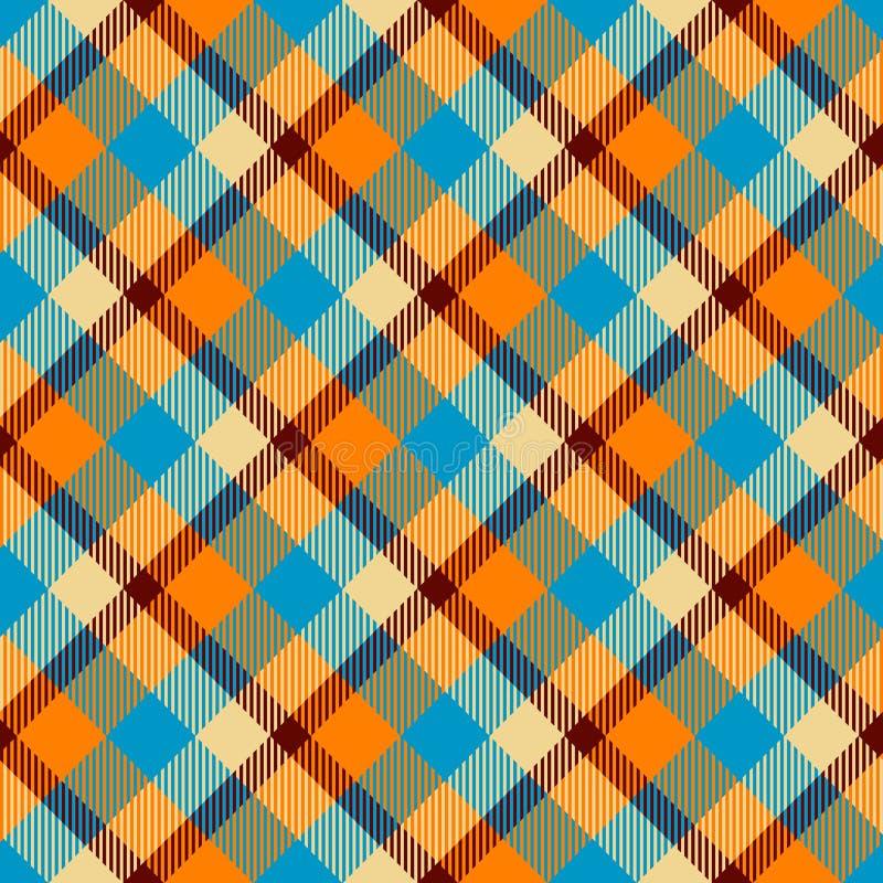 Seamless tartan vector pattern royalty free stock photos