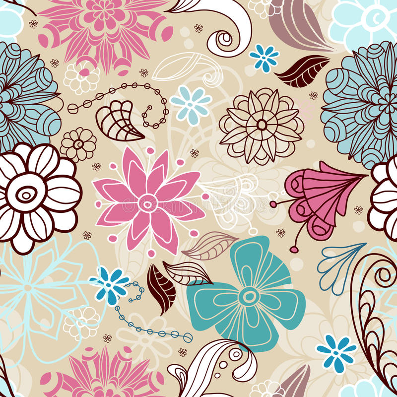 Download Seamless Tender Floral Background Stock Photo - Image: 23189210
