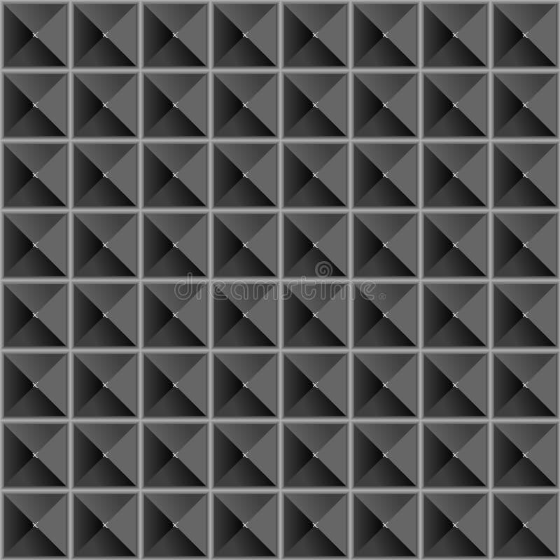 seamless textur för pyramider royaltyfri illustrationer