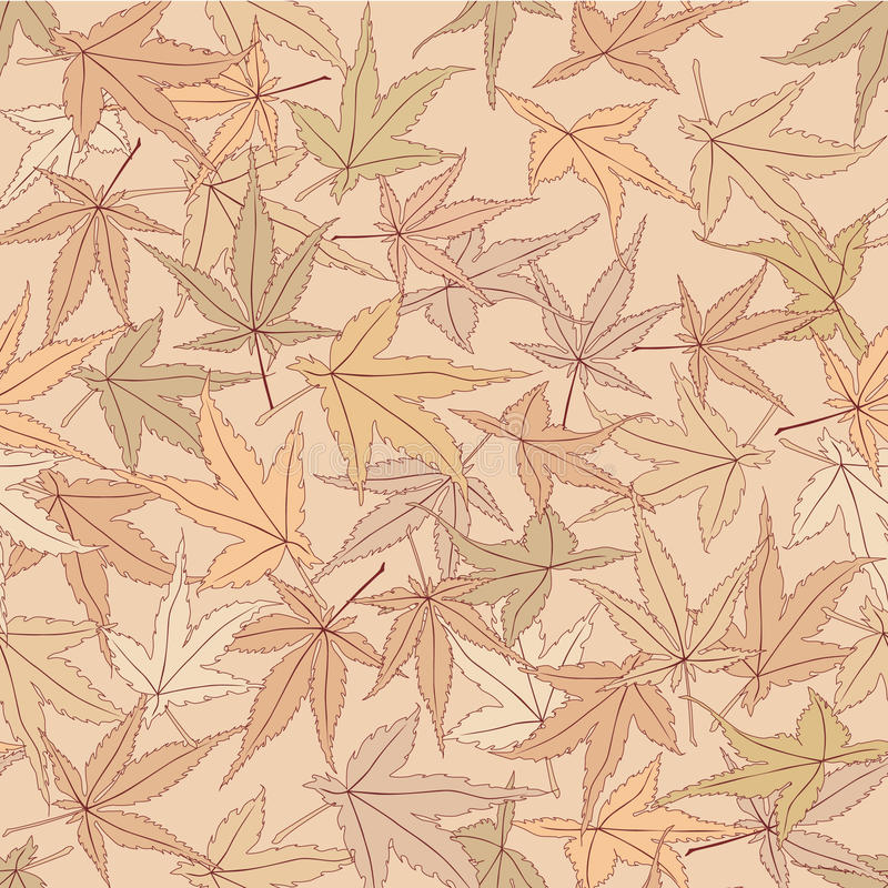 Seamless textur med blom- tema stock illustrationer