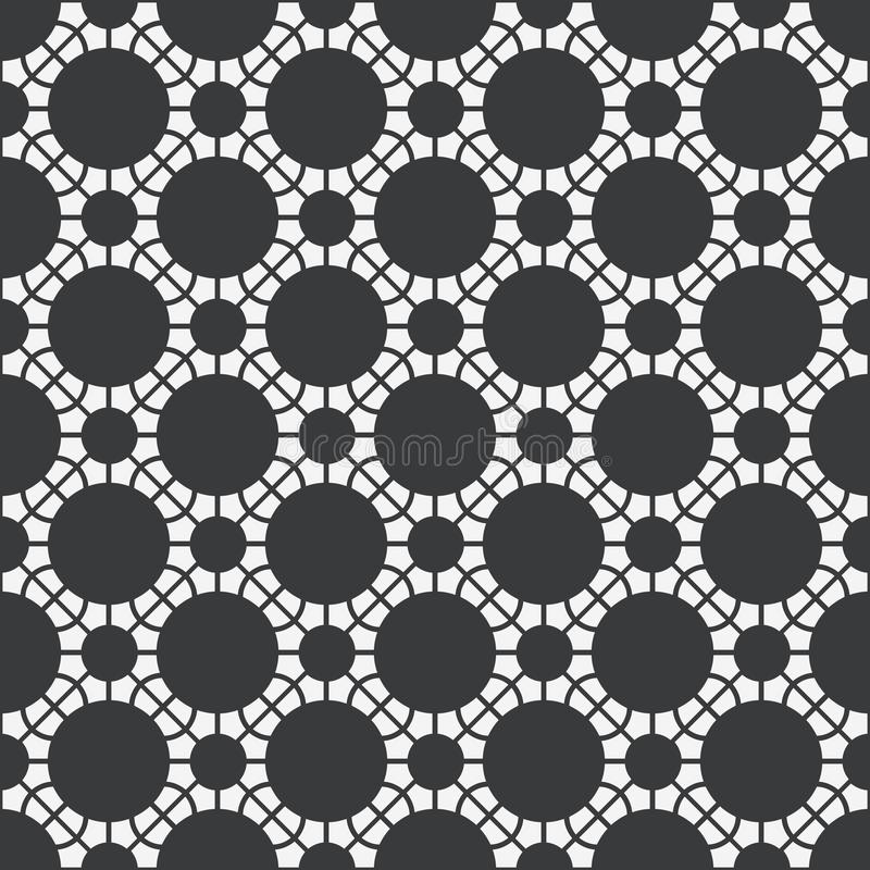 Vector Asian Geometric Pattern royalty free stock image