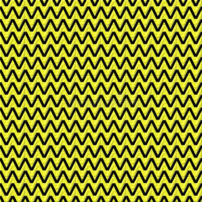 Seamless texture abstraction of yellow and black colors royalty free stock photos