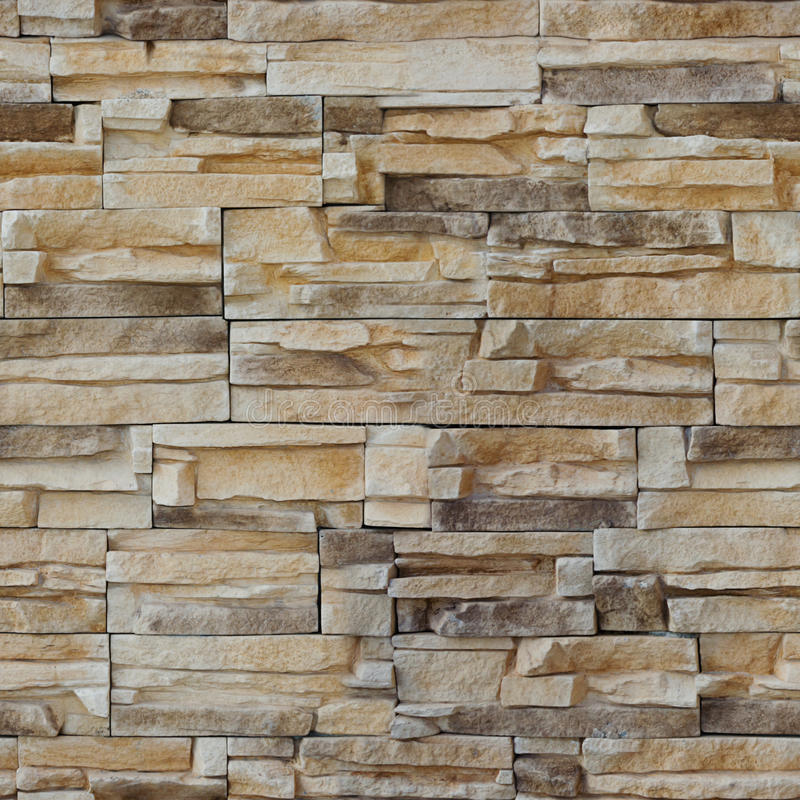 Seamless texture, background, stone lined with granite walls. sandstone. stone background wall. Facing Stone stock photography