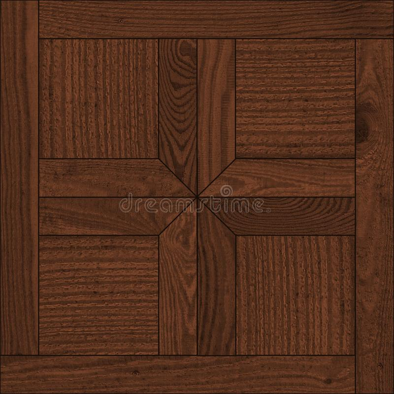 Seamless texture of brown wooden parquet of good quality. The picture is made in good quality stock photography