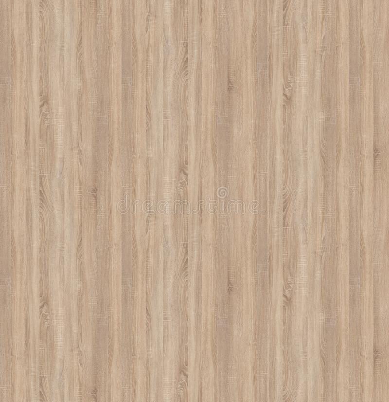 Seamless texture of chipboard slabs Light Sonoma Oak. Texture is taken from the official site of the chipboard manufacturer and recycled manually without the royalty free stock photography