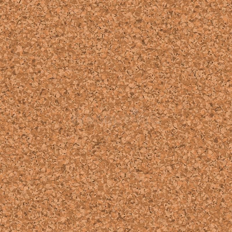 Seamless texture of empty bulletin board cork royalty free illustration