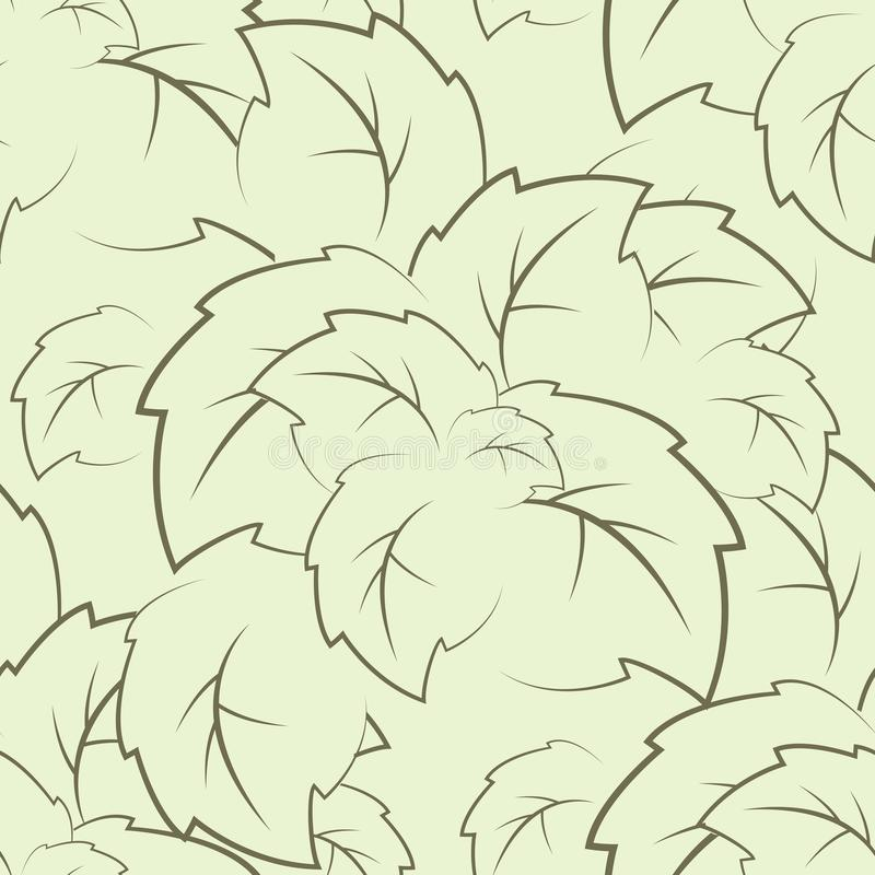 Download Seamless Texture Of The Foliage Stock Vector - Image: 24879195