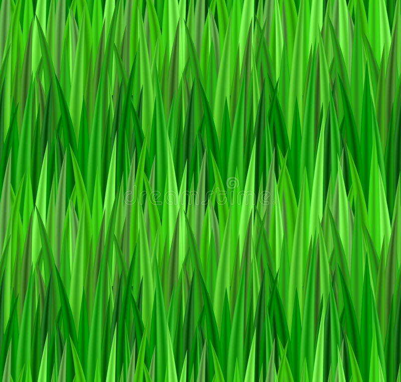 Seamless texture with green grass. Lawn. Vector pattern for your creativity royalty free illustration