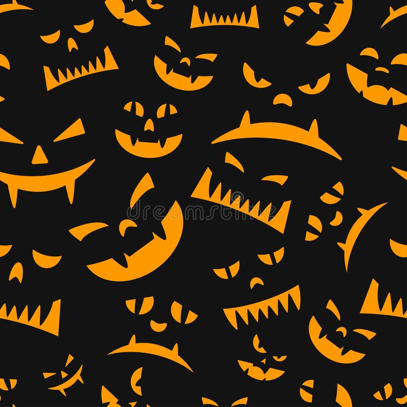 Seamless texture for halloween theme royalty free stock images
