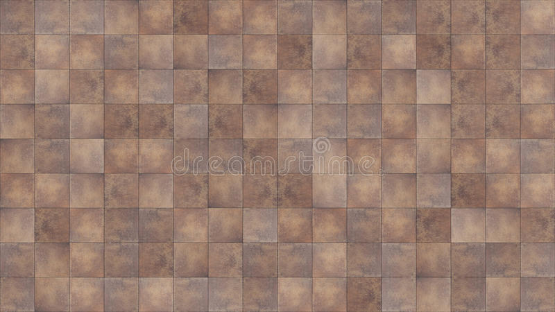 Seamless texture map tile. Seamless texture map for use in 3ds software. dark brown ceramic tile stock photos