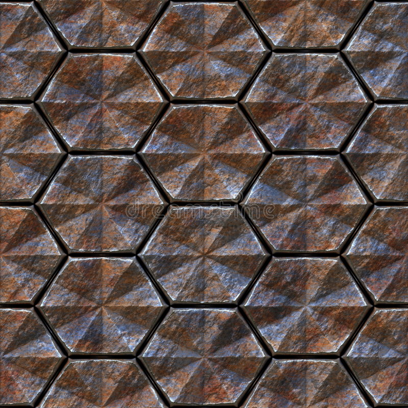 Seamless texture of metal stock photo