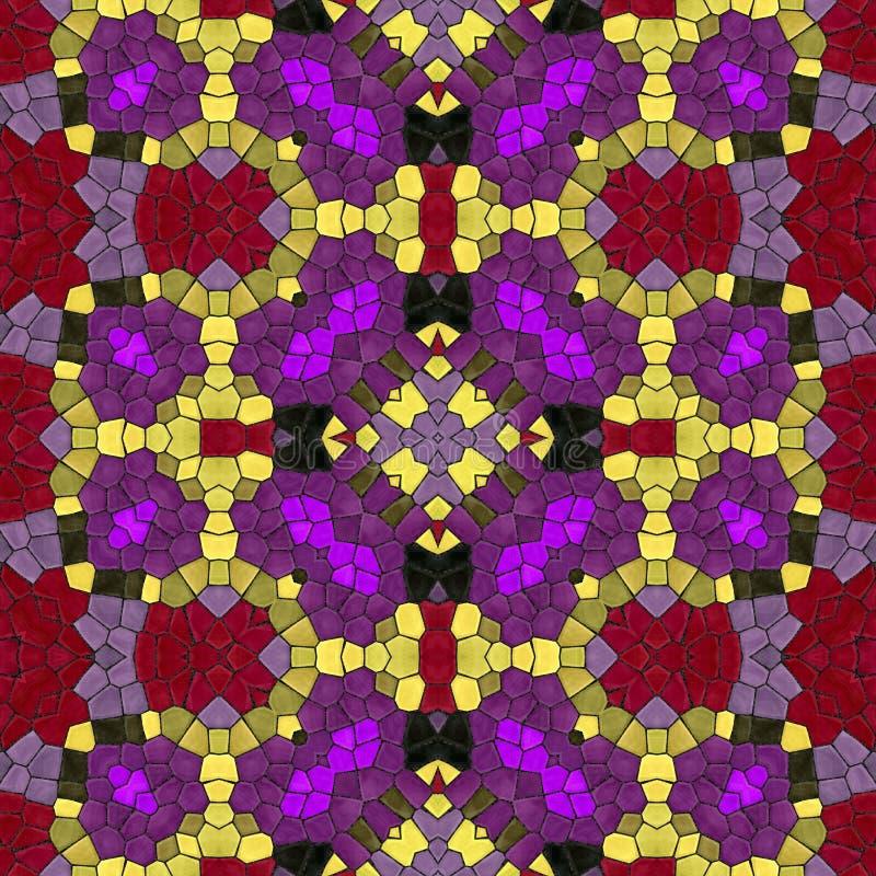 Download Seamless Texture Of Mosaic Kaleidoscope Pattern Stock Illustration - Image: 83705674