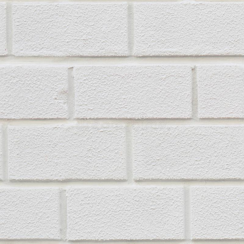 Seamless texture of old white brick with relief royalty free stock images