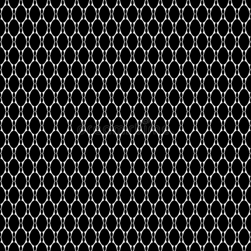 Seamless texture with oval elements. Vector art vector illustration