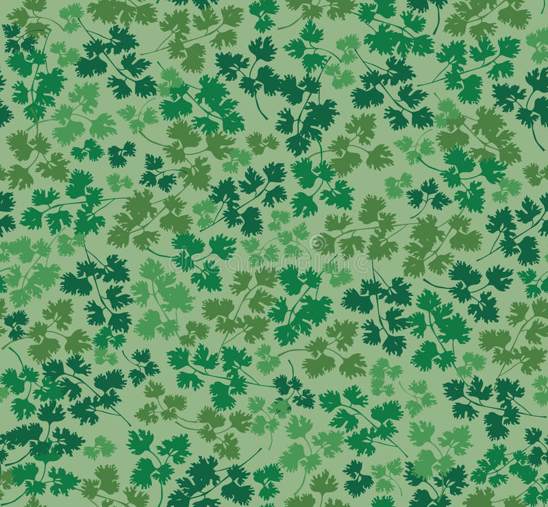 Download Seamless Texture With Parsley Leaves Stock Photos - Image: 26020153