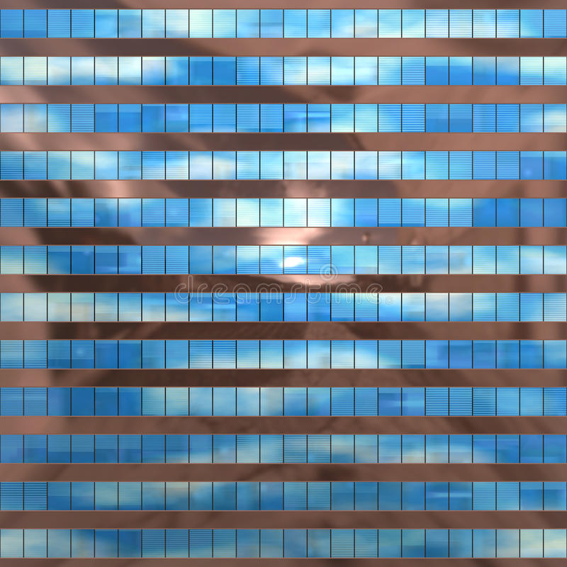 Seamless texture resembling skyscrapers windows royalty free stock photos