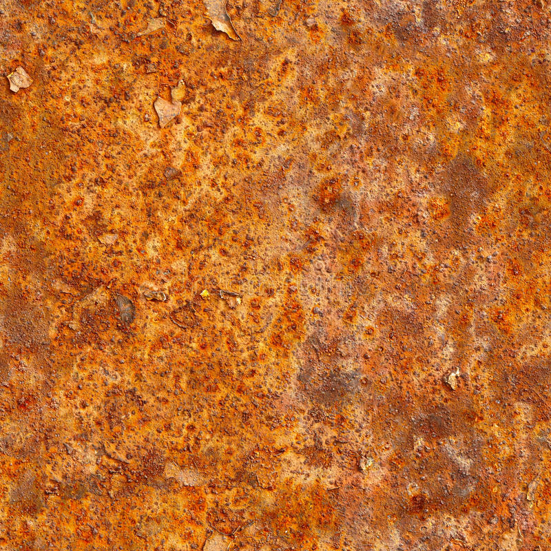 Seamless texture of rusty metal surface. Grunge photographic pat. Tern for design stock photos