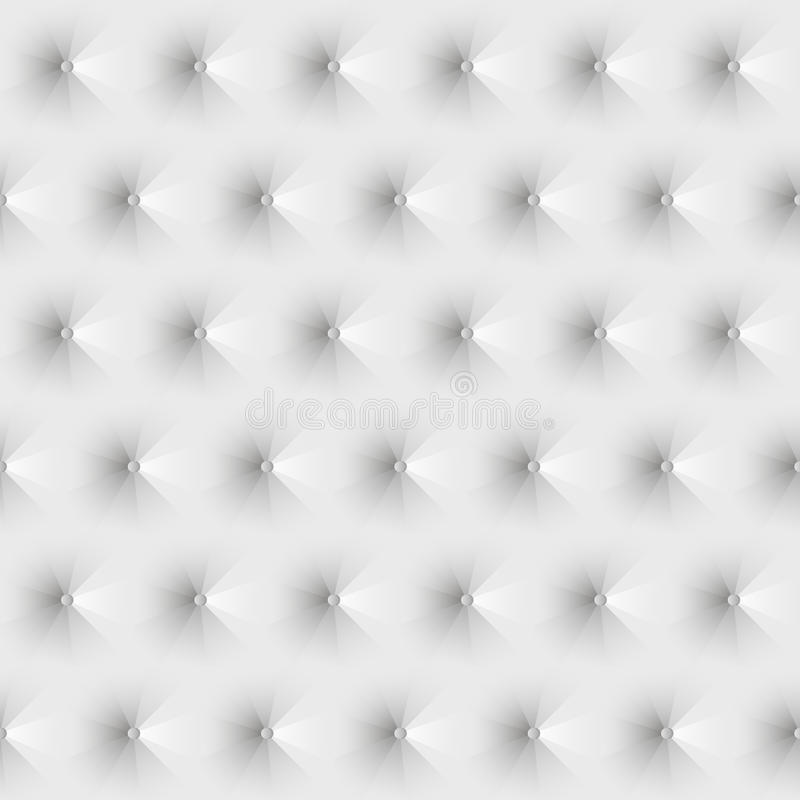 Download Seamless Texture Upholstery White Leather Stock Vector