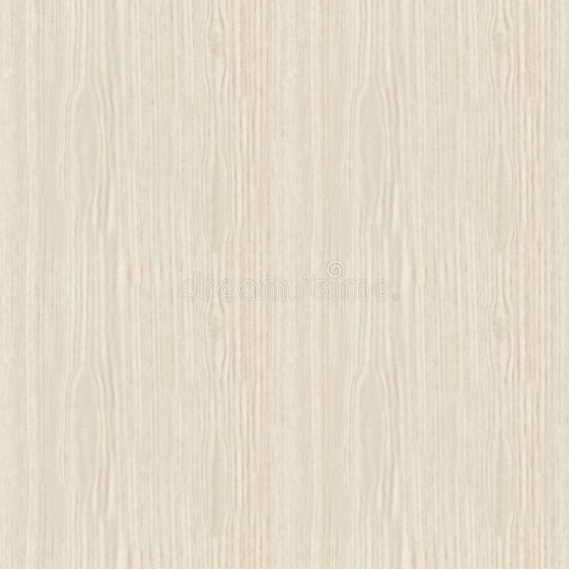Seamless texture. White bleached oak pine wood pattern. stock images