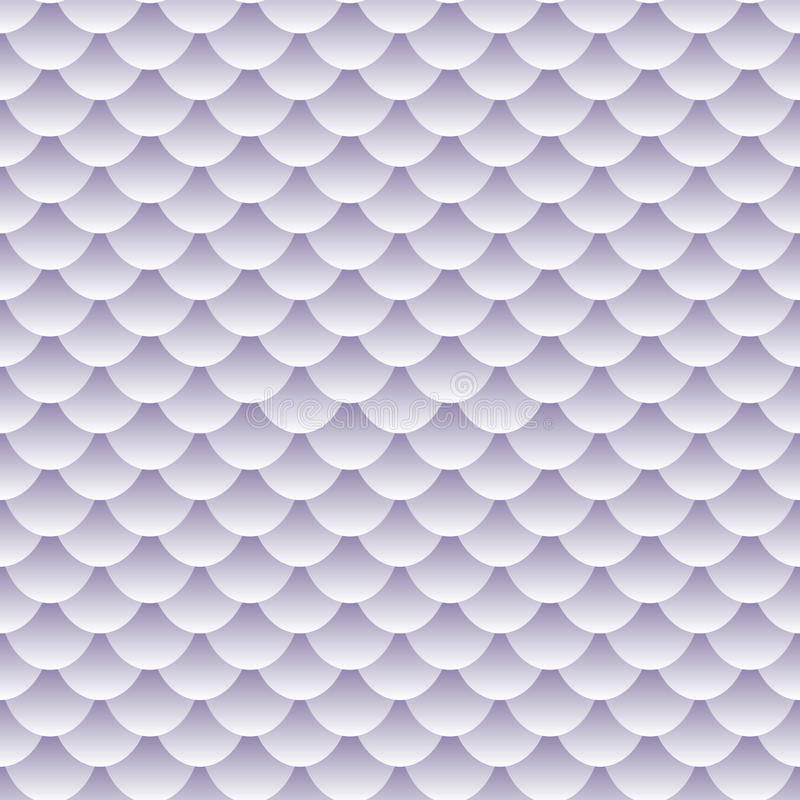 Seamless Textured Fish Scale Pattern Royalty Free Stock Photos