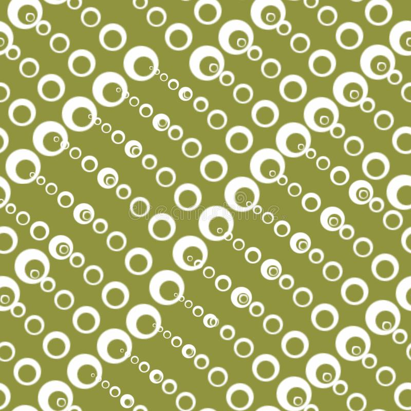 Seamless textures with circles of different sizes vector illustration