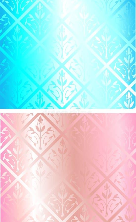 seamless texturvektor royaltyfri illustrationer