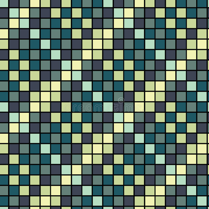 Seamless tile pattern vector illustration