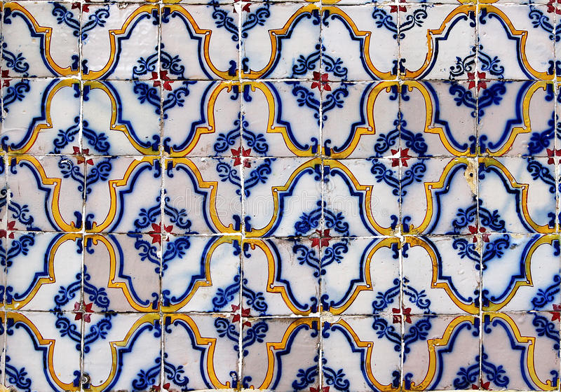 Seamless tile pattern of antique tiles. Seamless tile pattern of anyique tiles. This is seamless pattern, meaning you can create an arbitrary image size by stock image