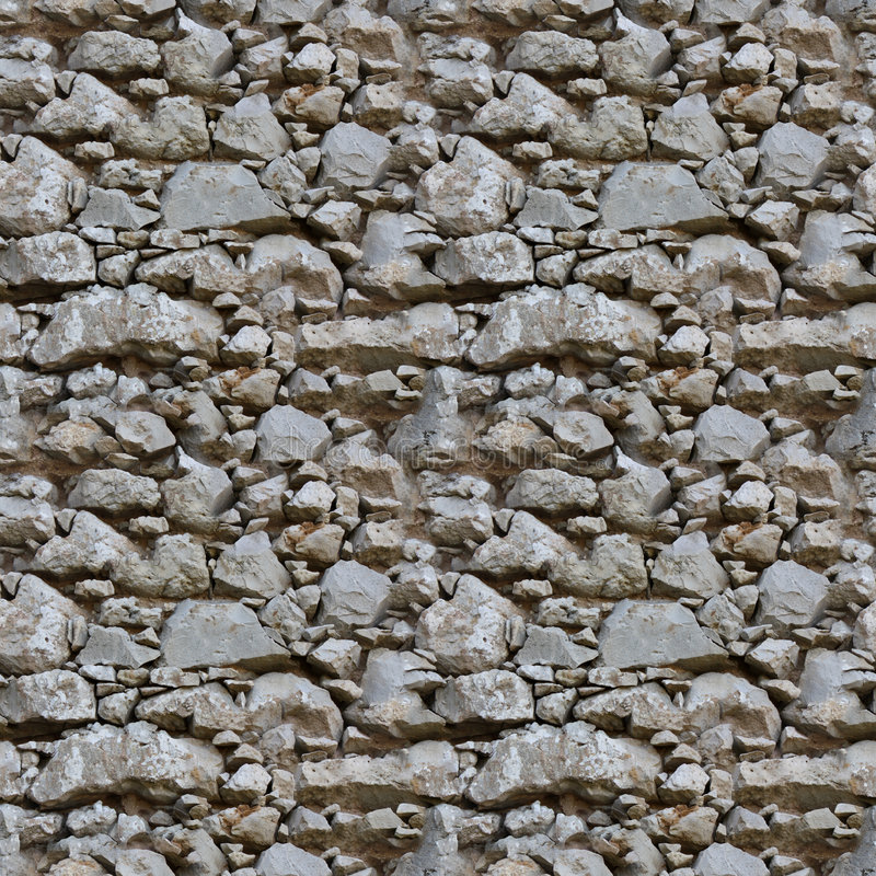 Seamless tile pattern of a stone wall. This is seamless pattern, meaning you can create an arbitrary image size by simply concatenating several of these images stock images