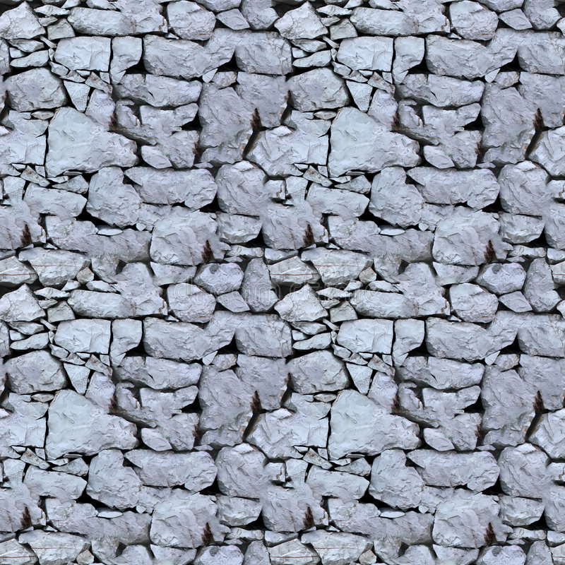 Seamless tile pattern of a stone wall. This is seamless pattern, meaning you can create an arbitrary image size by simply concatenating several of these images royalty free stock image