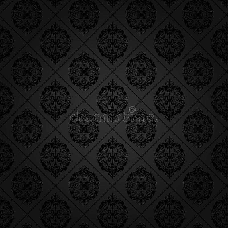 Seamless tile wallpaper royalty free illustration