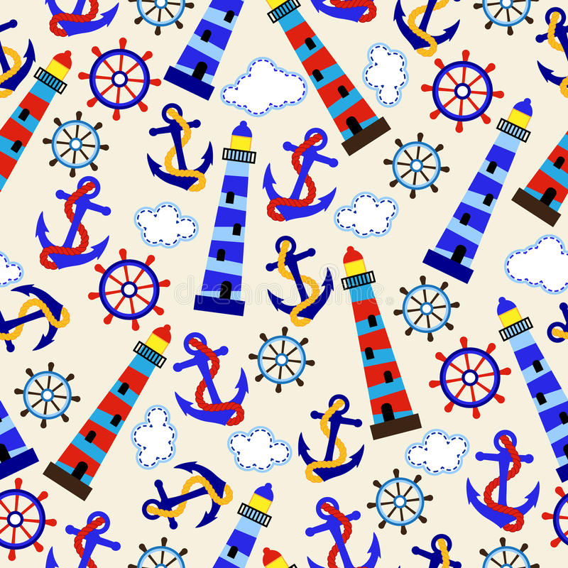 Nautical Themed Wallpaper