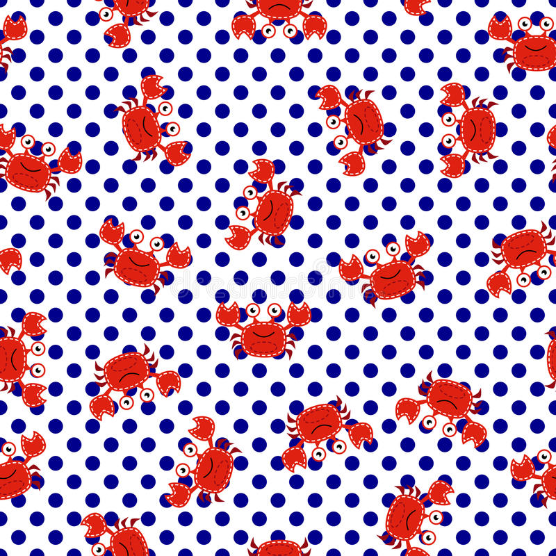 Download Seamless Tileable Nautical Themed Vector Background Or Wallpaper Stock Vector - Illustration of water, preppy: 43089569