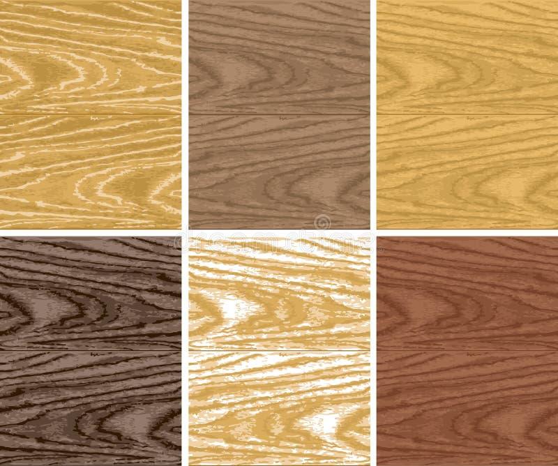 seamless trä för modell royaltyfri illustrationer