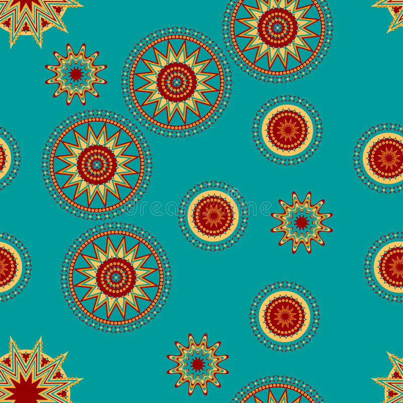 Download Seamless Tracery In Ethnic Style Stock Vector - Image: 15972783