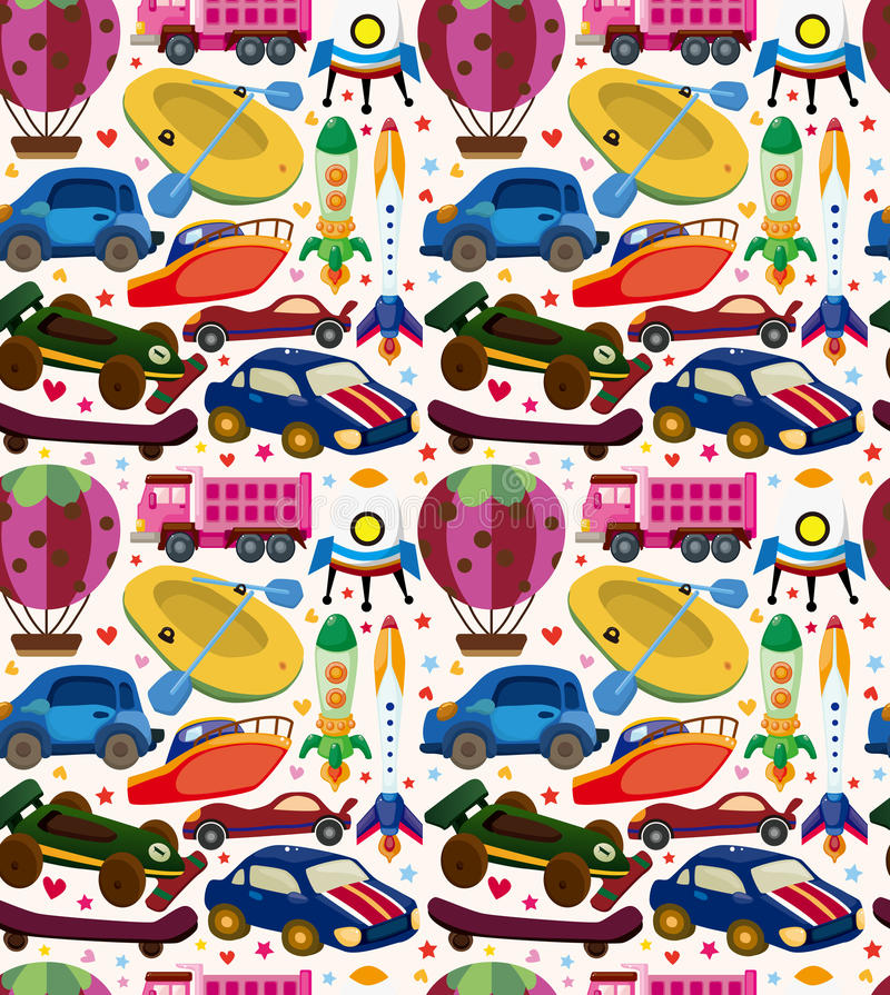 Download Seamless Transport Pattern Stock Image - Image: 30625501