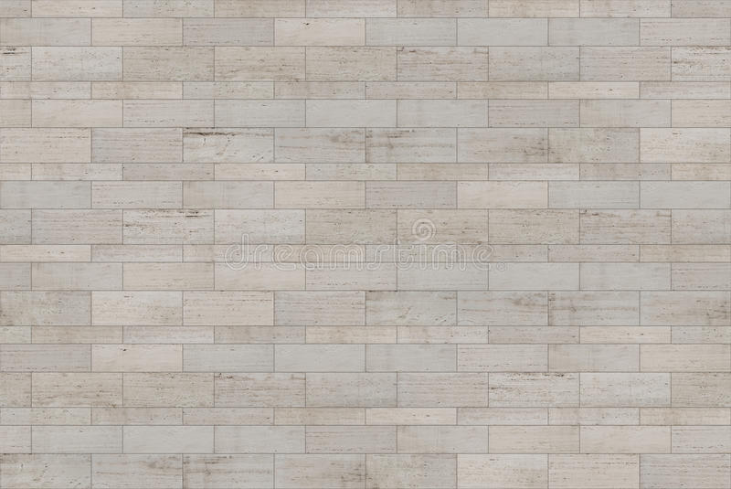 Seamless travertine stone facade texture royalty free stock photo